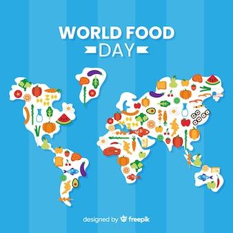 Design de fond de la journée mondiale de l'alimentation