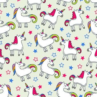 Design de fond de licorne