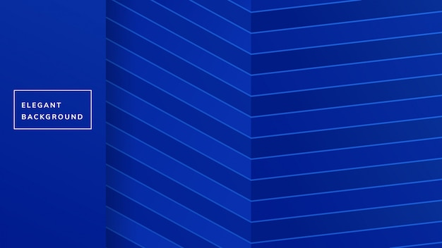 Design de fond de ligne bleue