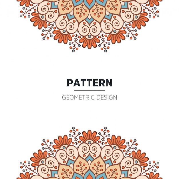 Design de fond de mandala