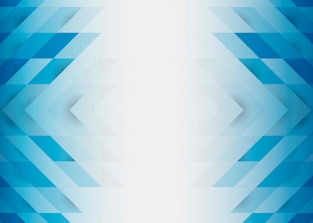 Design de fond moderne 3d bleu