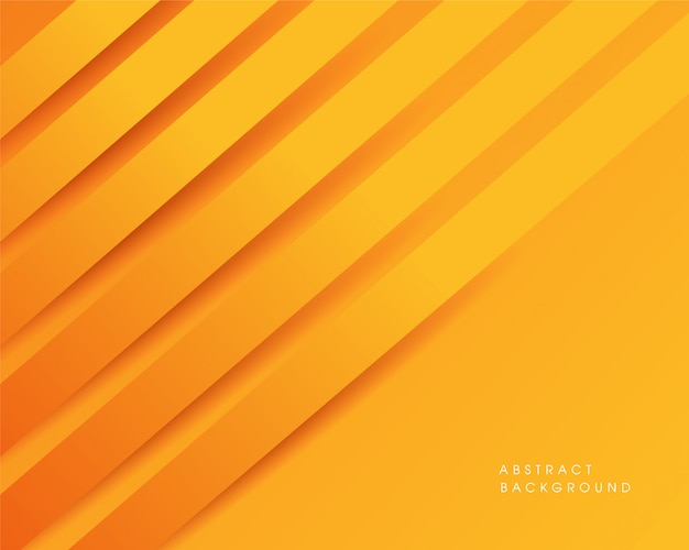 Design de fond moderne abstrait jaune