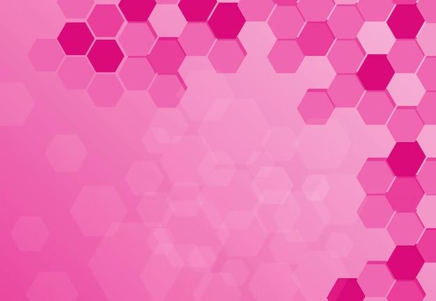 Design de fond avec des motifs abstraits en rose