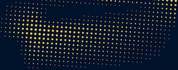 Design de fond de points de demi-teintes de couleurs vives