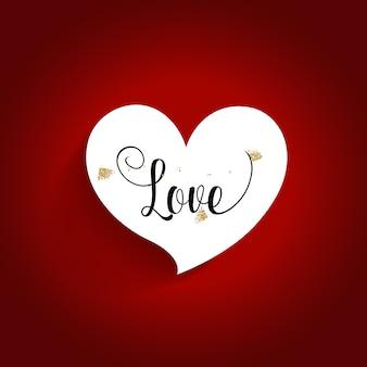 Design de fond saint valentin. illustration vectorielle