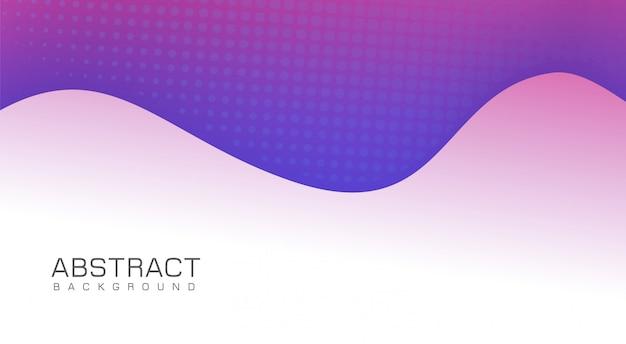 Design de fond violet moderne