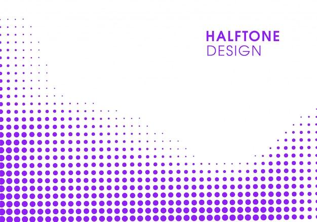 Design de fond violet vibrant