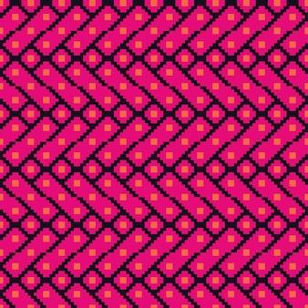 Design graphique ethnique décoration motif abstrait vector
