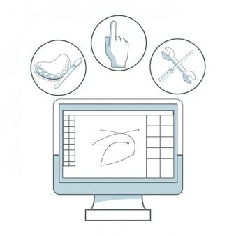 Design graphique numérique