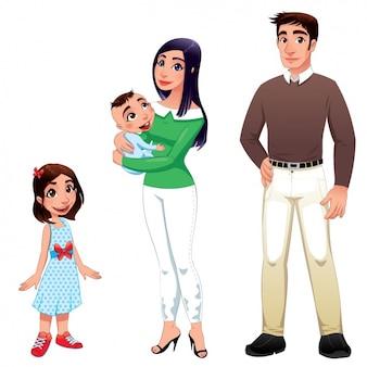 Design happy family