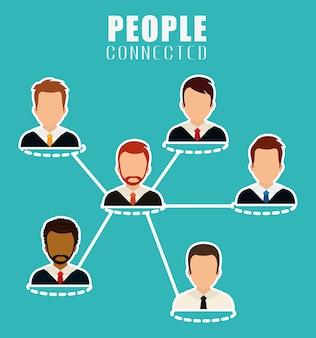 Design d'icône de personnes