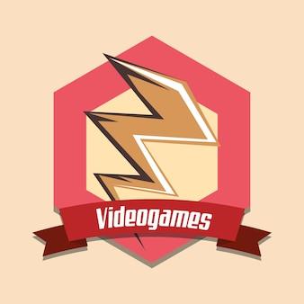 Design de jeux vidéo vintage