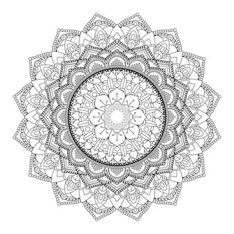 Design de mandala décoratif