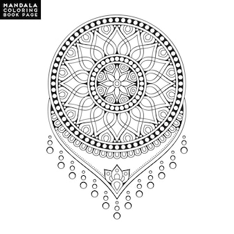 Design de mandala ornemental