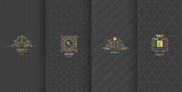 Design de marque de luxe pour l'emballage