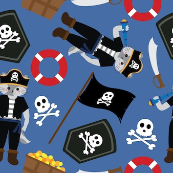 Design de modèle de pirate