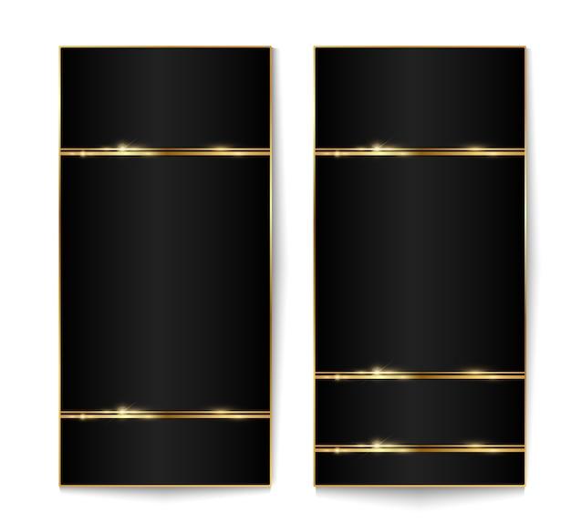 Design moderne avec des effets sur fond transparent.
