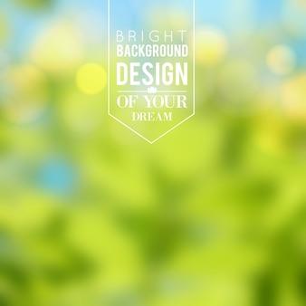 Design nature de fond