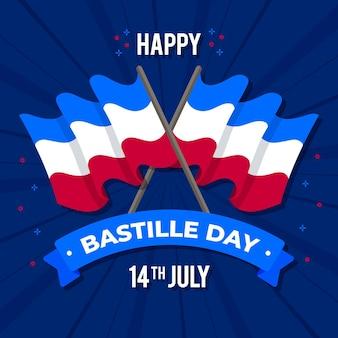 Design plat bastille day