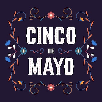 Design plat de cinco de mayo