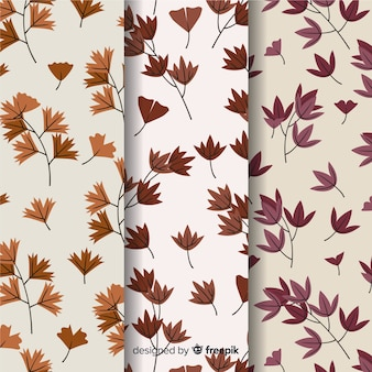 Design plat de collection automne