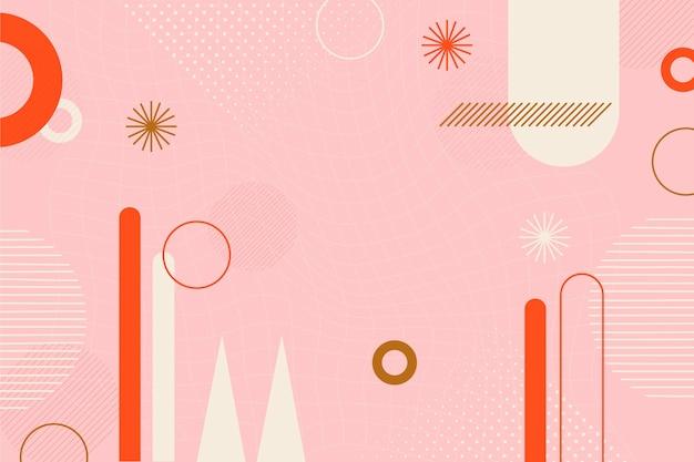 Design plat de fond abstrait