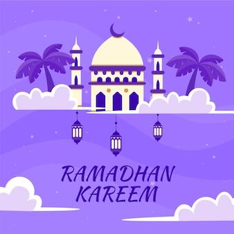 Design plat ramadan design