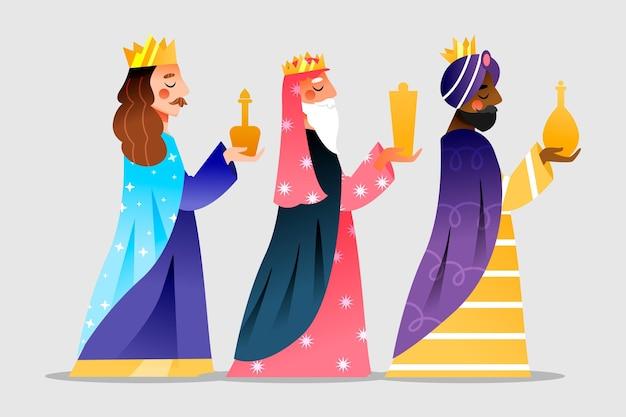 Design plat reyes magos