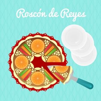 Design plat roscon de reyes
