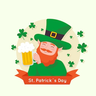 Design plat st patricks day concept