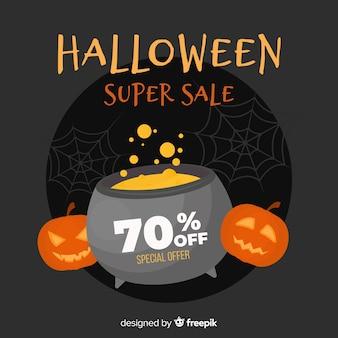 Design plat de vente d'halloween