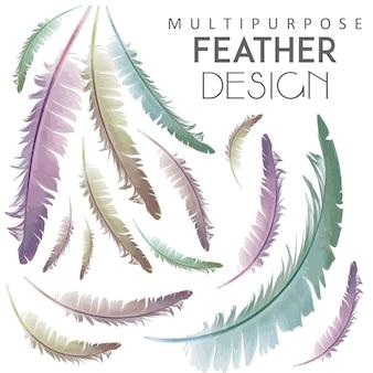 Design plume polyvalent
