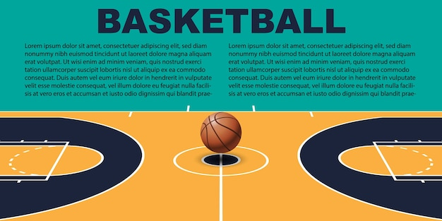 Design pour le basketball