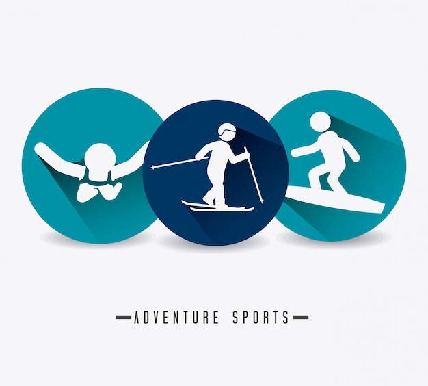 Design de sport extrême.