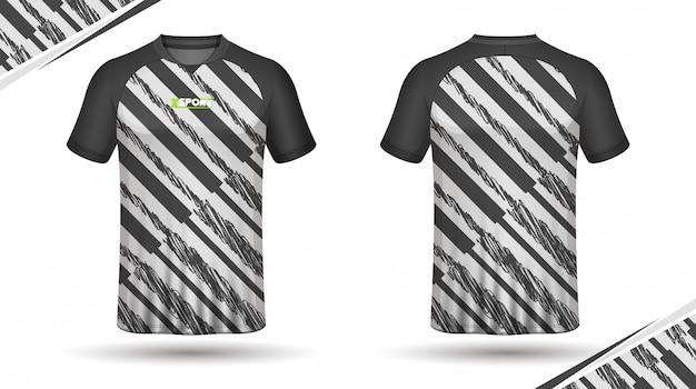 Design de t-shirt de football