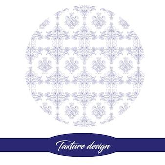 Design de texture bleue