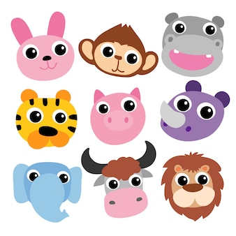 Design vectoriel alphabet pour enfant