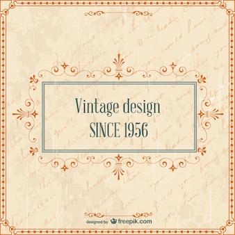 Design vintage rétro
