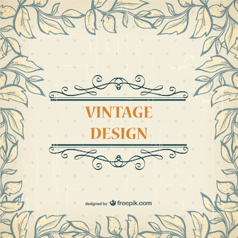Design vintage simples
