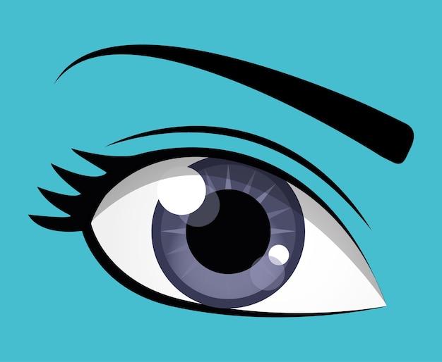 Design des yeux
