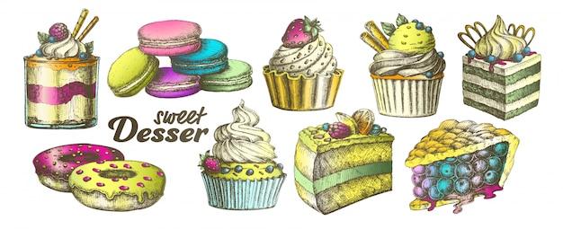 Dessert sucré