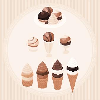 Desserts au café
