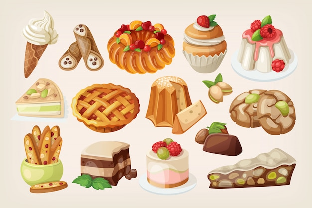 Desserts italiens traditionnels