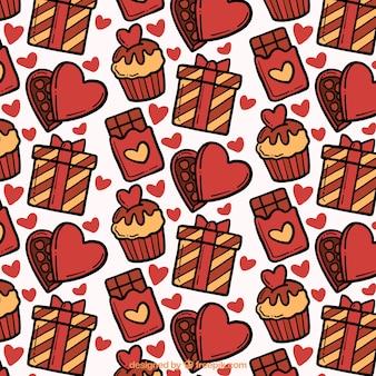 Desserts modèle pour valentine