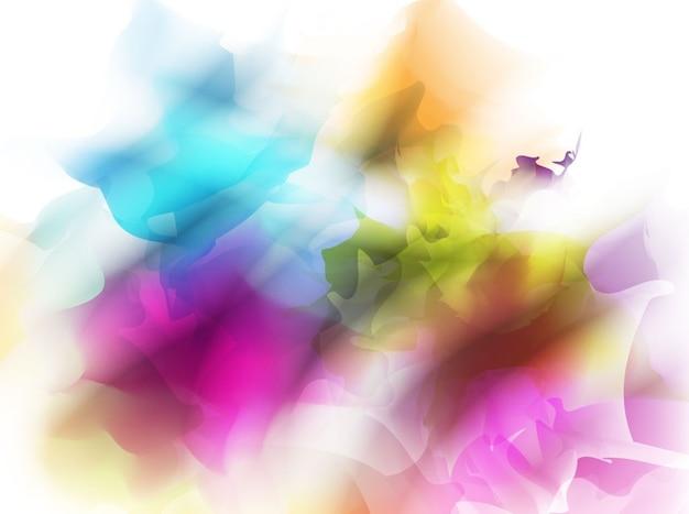Dessin abstrait avec beaucoup de couleurs pour le fond