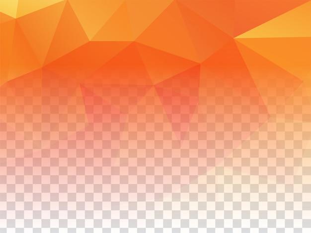 Dessin abstrait géométrique fond clair transparent