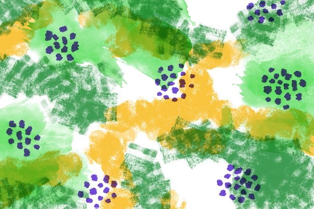 Dessin abstrait de peinture colorée