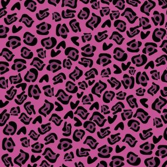 Dessin animalier au cours de l'illustration vectorielle fond violet