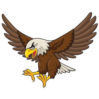 Dessin animé aigle