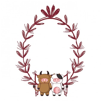 Dessin animé animal mignon